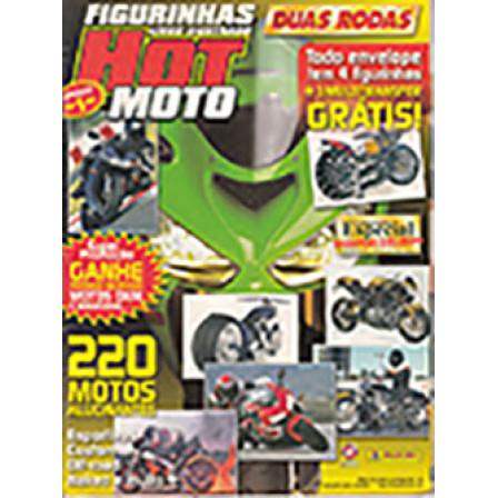 Album Vazio Hot Moto Ano 2005 Panini