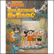 Album Vazio Turma da Mônica Uma Aventura no Tempo