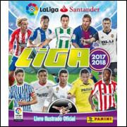 Album Vazio Campeonato Espanhol Liga Santander 2017 2018