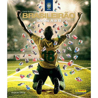 Album Vazio Campeonato Brasileiro 2018 Capa Dura