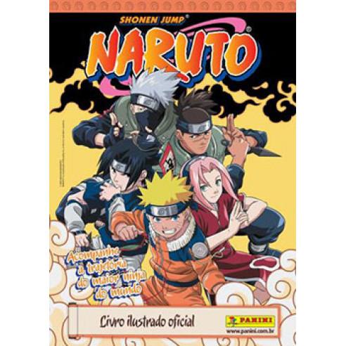 Album Vazio Naruto Shonen Jump