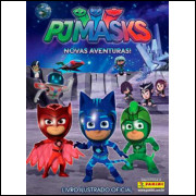 Figurinhas do Album PJ Masks Novas Aventuras 2018