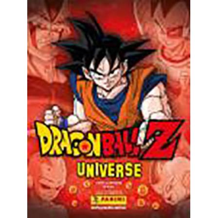 Figurinhas do Album DragonBall Z Universe