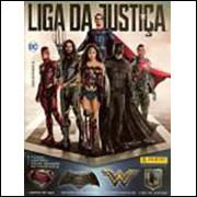 Figurinhas do Album Liga da Justiça 2017