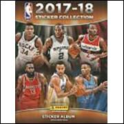 Figurinhas do Album NBA Sticker Collection 2017 2018