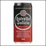 Lote 001 Lata Vazia de Cerveja Estrella Galicia 269 ML.