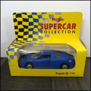 Lote 011 Maisto Supercar Collection Bugatti EB 110
