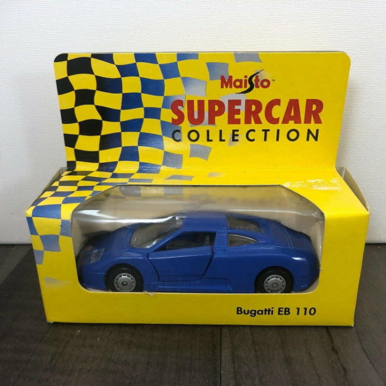 Lote 011 Maisto Supercar Collection Bugatti EB 110
