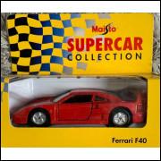 Lote 013 Maisto Supercar Collection Ferrari F40