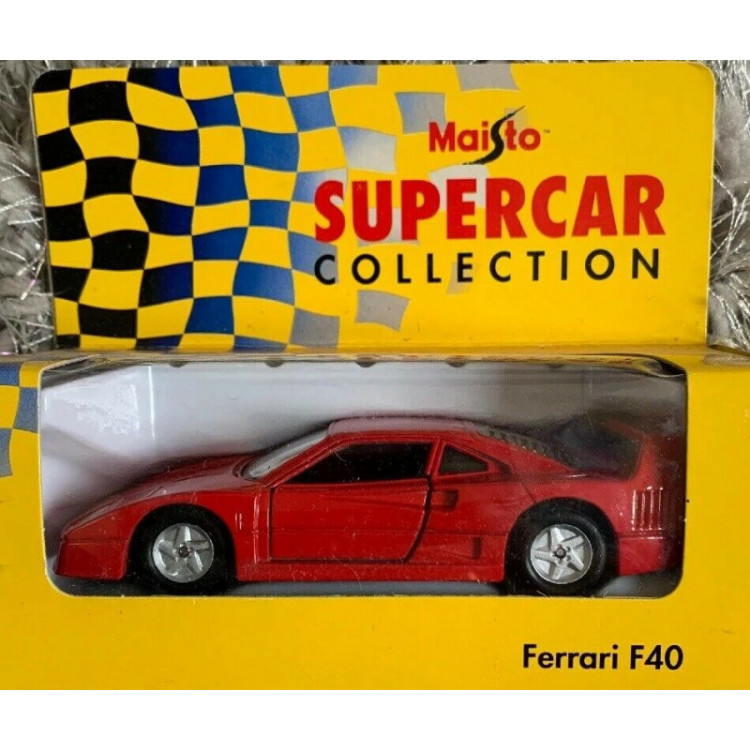 Lote 013 Maisto Supercar Collection Ferrari F40