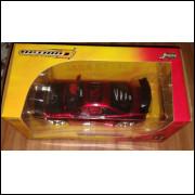 Lote 006 Jada Import 1/24 Mitsubishi Eclipe Vermelho