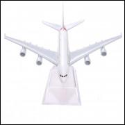 Lote 006 Miniatura Avião Emirates Airlines Airbus A380
