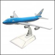 Lote 008 Miniatura Avião Royal Dutch Airlines Aircrafi B747
