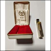 Lote 001 Isqueiro Win 1000 Gas Lighter na Caixa