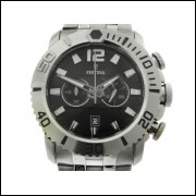 Lote 003 Relogio Festina All Stainless