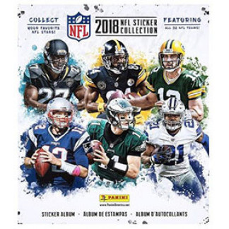 Album Vazio NFL Sticker Collection 2018