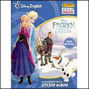 Figurinhas do Álbum Frozen Uma Aventura Congelante 2016 Stick In English