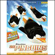 Figurinhas do Album Os Pinguins de Madagascar 2015