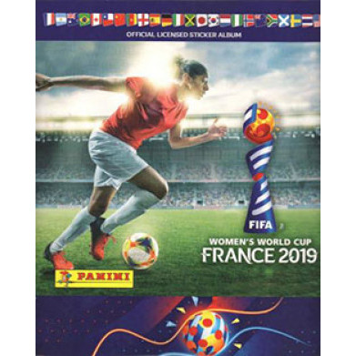 Lote 010 Album Vazio Fifa Women-s World Cup 2019 France