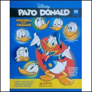 Lote 014 Album Vazio Pato Donald 85 Anos 2019