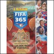 Lote 022 Album Vazio Fifa 365 2020 2019