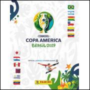 Lote 005 Album Vazio Copa América Brasil 2019