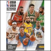 Lote 014 Album Vazio NBA Sticker Collection 2018 2019