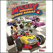 Figurinhas do Album Mickey Aventuras Sobre Rodas 2017 Abril