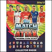 Figurinhas do Album Match Attx Cards Premier League 2016 2017 Topps