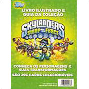 Figurinhas do Album Skilanders Swap Force Cards 2014 Topps