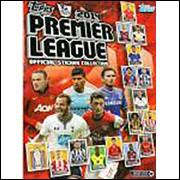 Figurinhas do Album Premier League 2014 Topps