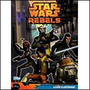 Lote 019 Album Vazio Star Wars Rebels 2015 Topps