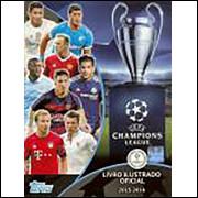 Lote 020 Album Vazio Uefa Champions League 2015 2016 Topps