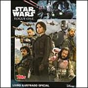 Lote 028 Album Vazio Star Wars Rogue One 2016 Topps