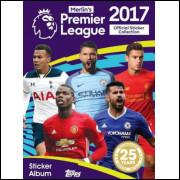 Lote 029 Album Vazio Premier League 2017 Topps