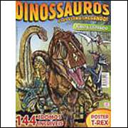 Figurinhas do Álbum Dinossauros Eles Estão Chegando 2008 Alto Astral