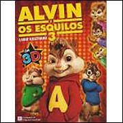 Figurinhas do Album Alvin e os Esquilos 3 2011 Alto Astral
