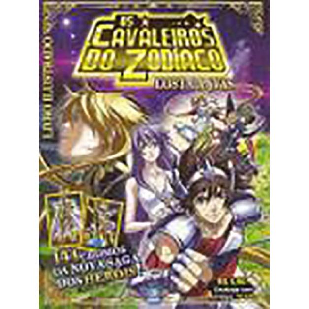 Envelope Os Cavaleiros Do Zodiaco Lust Canvas 2012 Deomar