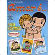 Figurinhas do Album Amar É Emporium De Idéias Ano 2005
