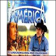Lote 006 Album Vazio America Novela 2005 Kromo