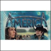 Lote 006 Envelope Novela America 2005 Kromo