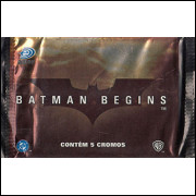 Lote 010 Envelope Batman Begins 2005 Kromo