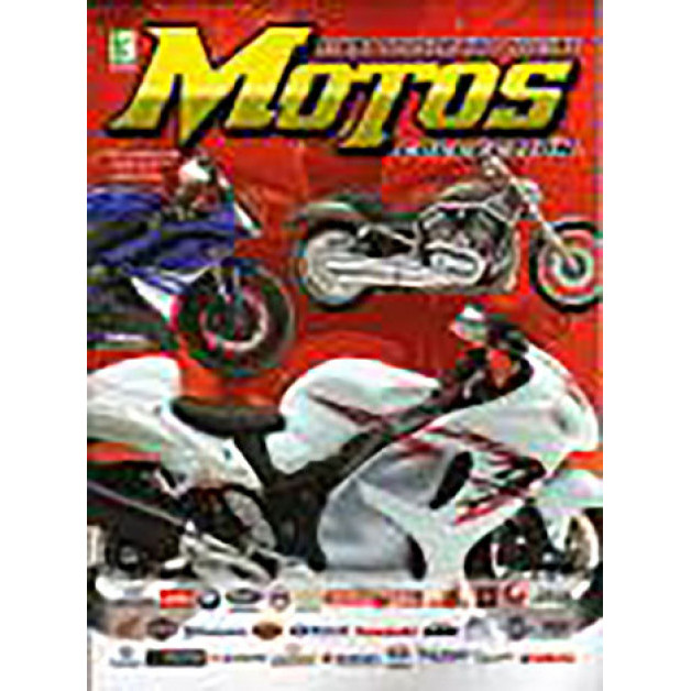 Lote 020 Album Vazio Motos Collection 2008 Kromo