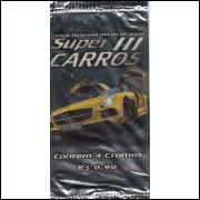 Lote 030 Envelope Super Carros 3 2013 Kromo