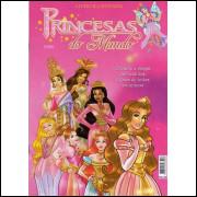 Lote 002 Album Completo Princesas Do Mundo 2008 Orbis