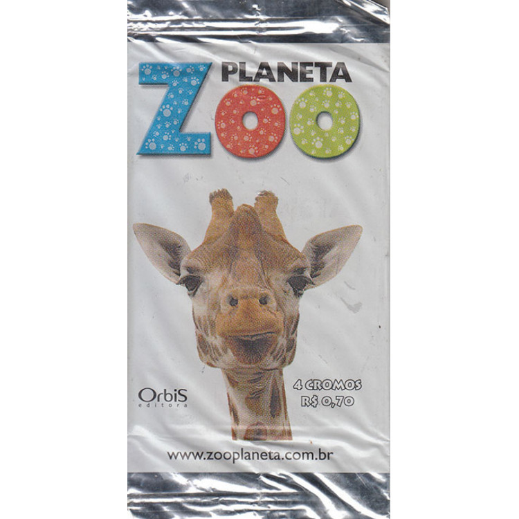 Lote 004 Envelope Planeta Zoo 2009 Orbis