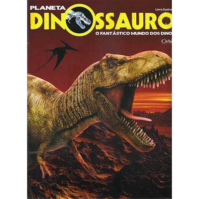 Lote 010 Album Completo Planeta Dinossauro 2010 Orbis