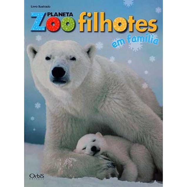 Lote 011 Album Vazio Planeta Zoo Filhotes Em Familia 2010 Orbis