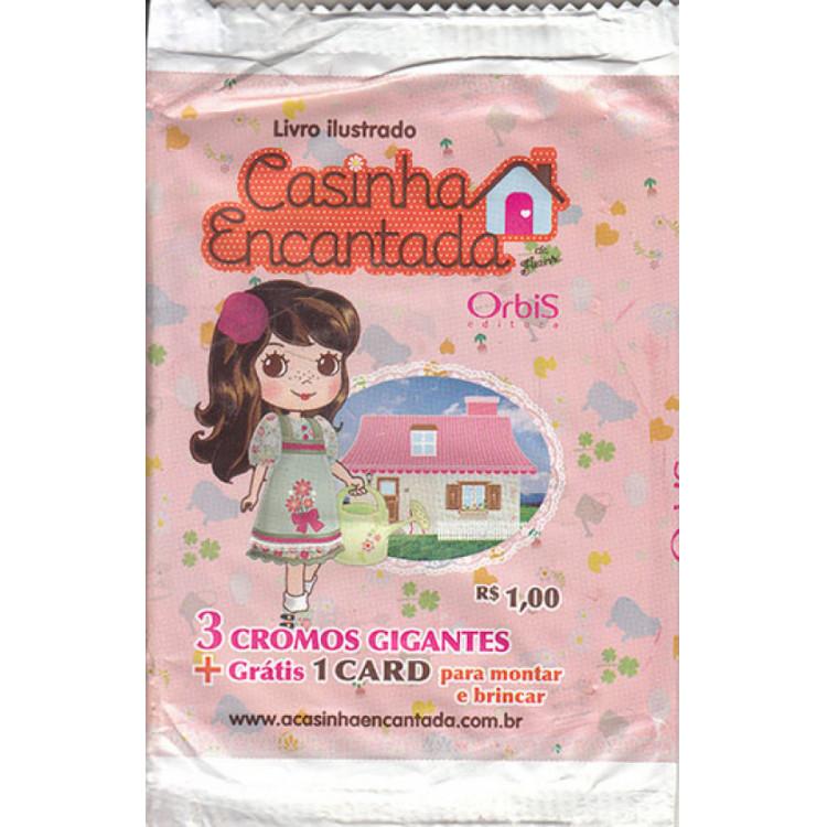 Lote 012 Envelope Casinha Encantada Da Florzinha 2010 Orbis