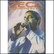 016 DVD Zeca Pagodinho Ao Vivo Usado